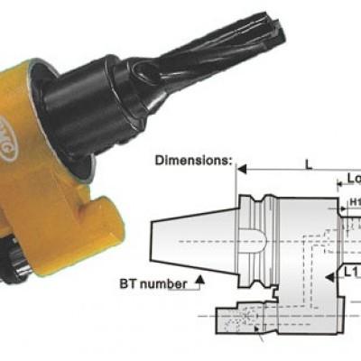 BT40,BT50 Hydraulic circuit hilt