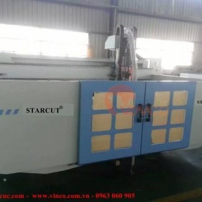 Máy CNC lắp cho khách hàng tại KCN Bắc Thăng Long